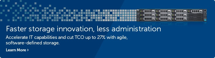 Faster storage innovation, less administration
