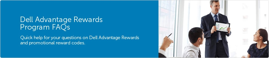 Dell Advantage Reward program FAQs