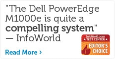 Dell blade servers tip the scales