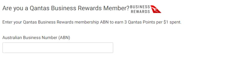 Qantas Business Reward