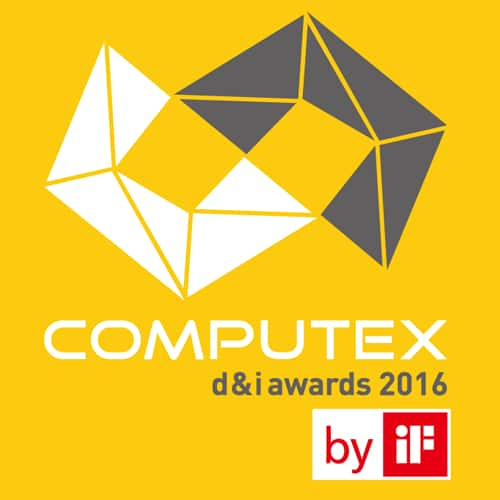 U2417HWi Monitor: 2016 COMPUTEX D&I Award by IF