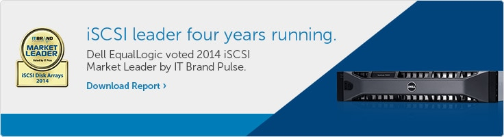 iSCSI leader four years running.