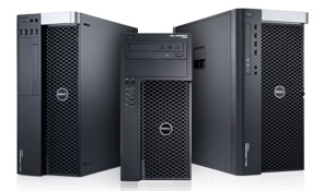 stations de travail au format rack dell precision