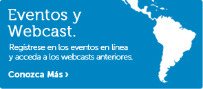 Eventos y Webcasts