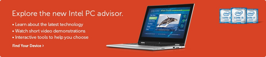 Intel PC advisor