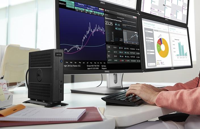Cliente ligero Wyse de la serie7000 para escritorio
