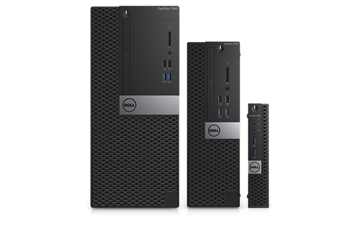 New OptiPlex 7040 Series Desktop