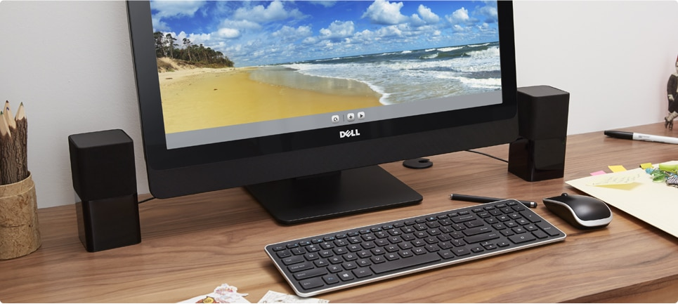 Essential accessories for your Inspiron 23 All-in-One Desktop