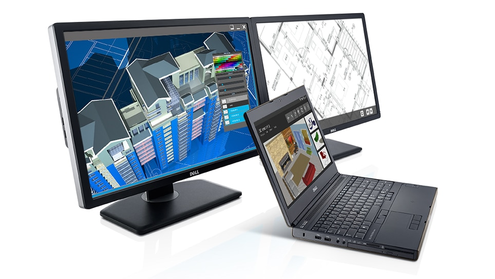 Precision M4800 Workstation - Heavy-duty processing and graphics performance