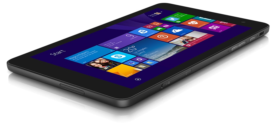 Venue 8 Pro 5000 Series Windows 8 1 HD Tablet Details | Dell Hong Kong