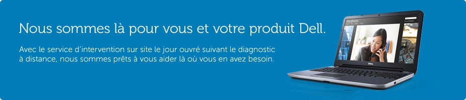 Services et support grand public Dell