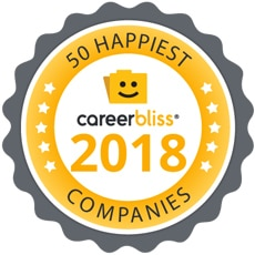 Top 50 happies companies careerbliss