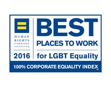 Ocenění: Best Place to Work for LGBT Equalty