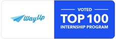 WayUp voted top 100 internship program