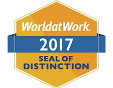 Work-life 2017 seal of distiction