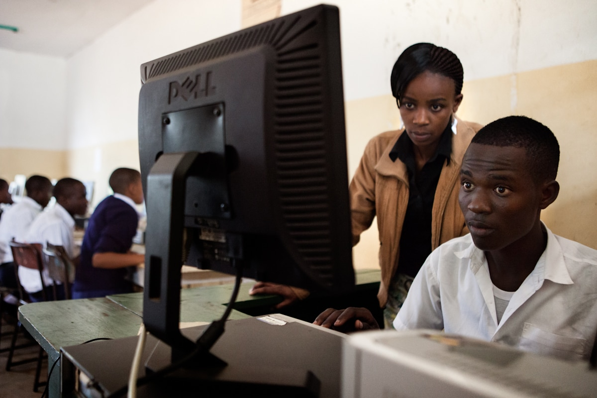 Discarded corporate technologies are given a new life in Africa