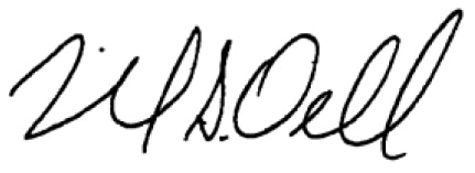 michael dell's signature