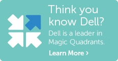 "Dell positioned in ""Leaders Quadrant"""