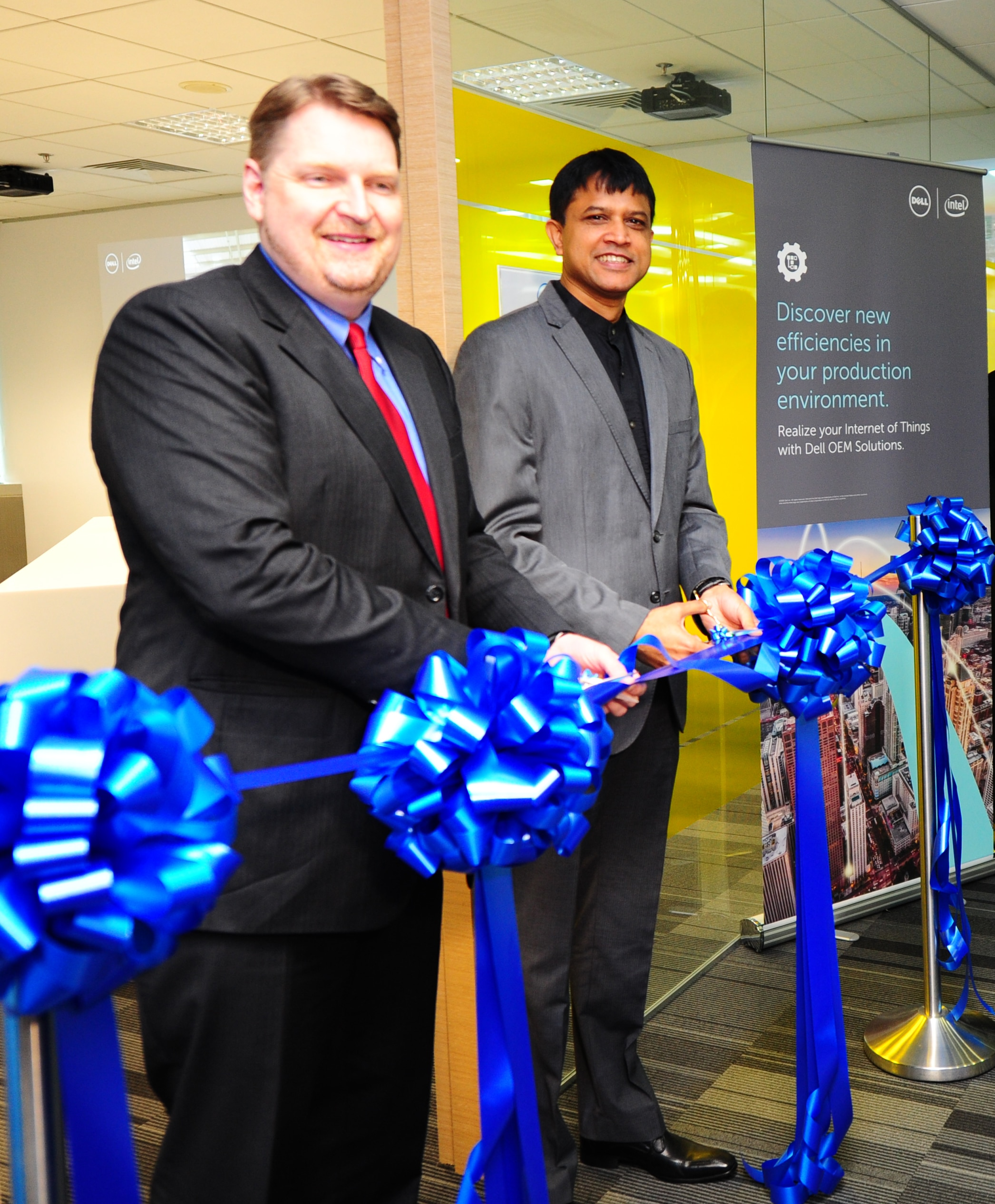 Launch of Dell IoT Lab in APJ in Singapore