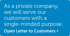 open letter to customers