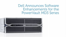 Dell PowerVault MD3 Software Enhancements