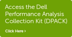 Access the Dell Performance Analysis Collection Kit