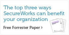 the top three ways secureworks can benefit your organization.