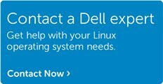 Talk to Dell about Linux solutions.