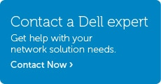 Talk to Dell About Network Solutions
