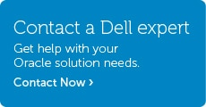 Talk to Dell About Oracle Solutions