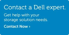 Talk to Dell about storage solutions.