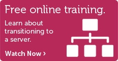 Online server solution training.