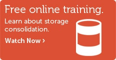 Online storage consolidation training.