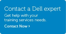 Talk to Dell About Training Services