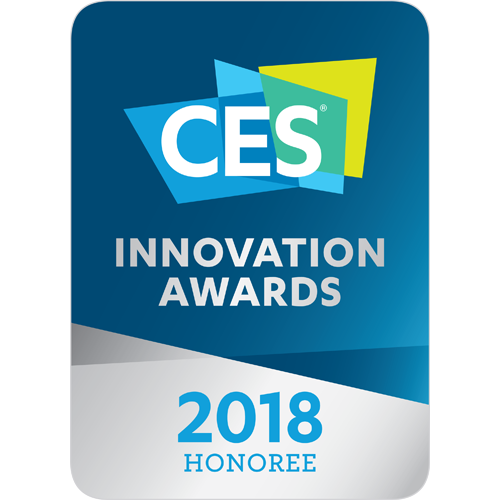 CES 2018 Innovation Awards Honoree (Computer Peripherals)