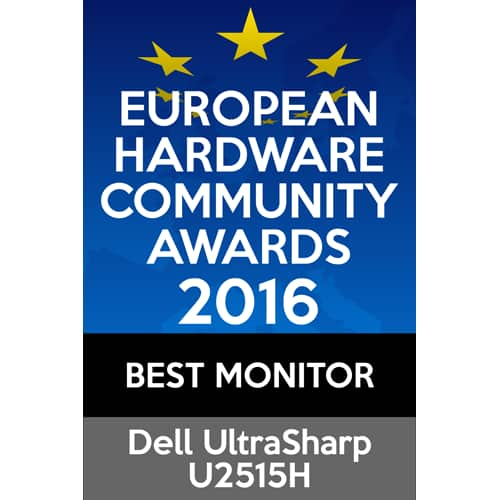 U2515H Monitor:  Best Monitor - 2016 EHA Community Awards