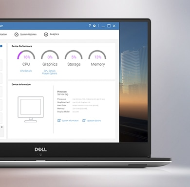 Improve productivity with Dell Precision Optimizer
