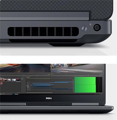 PrecisionM7710 Workstation– innovatives, robustes Design