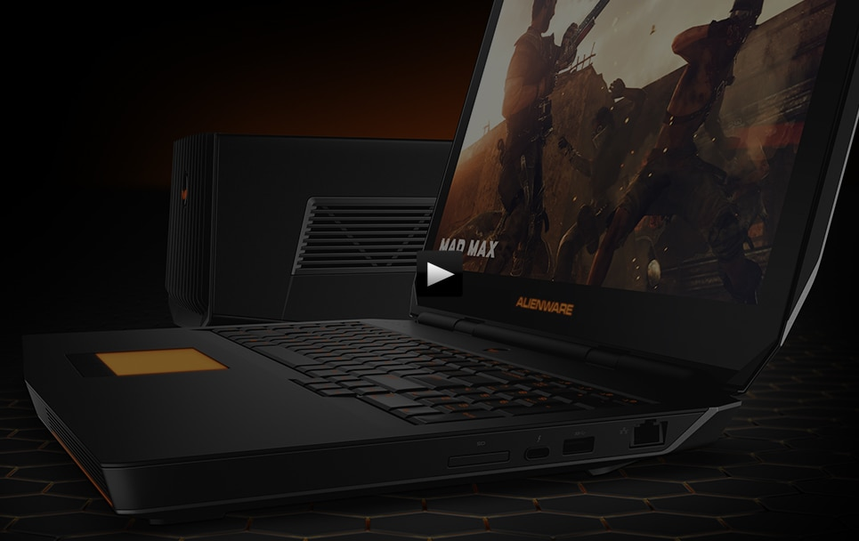 See the Alienware Graphics Amplifier in action.
