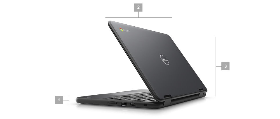 Chromebook 5190 Education 2-in-1 – mitat ja paino