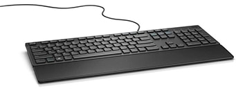 Wired keyboard for everyday home or office use