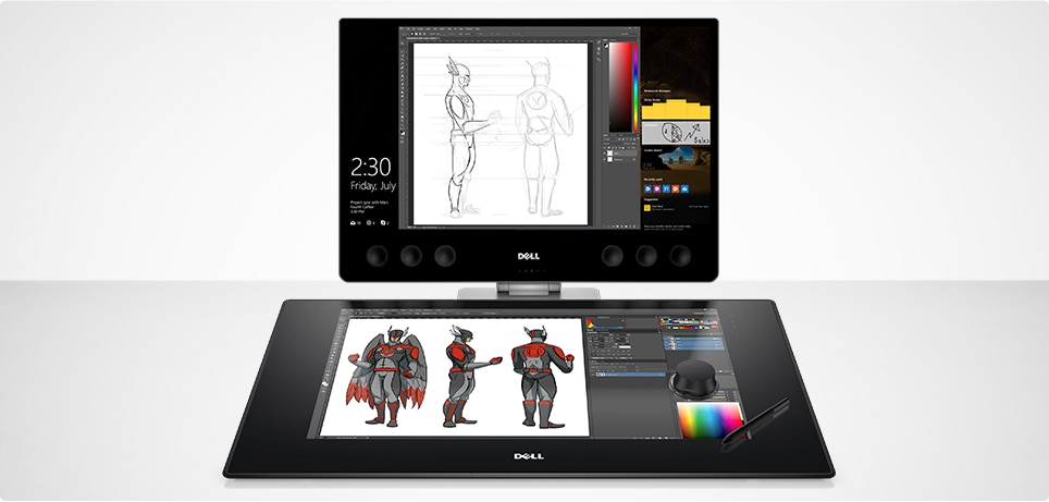Dell Canvas: Interactive Pen and Totem Display | Dell USA