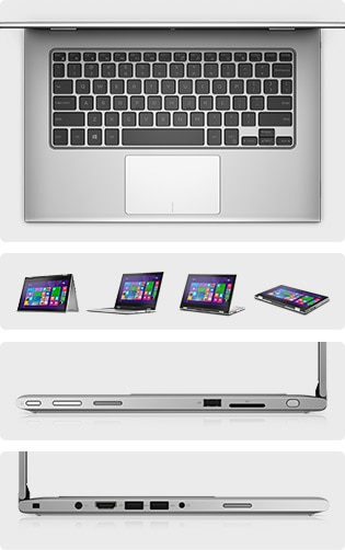 Inspiron 13 Powerful laptop. Tablet versatility.