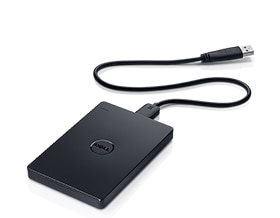 Dell Portable Backup Hard Drive-2TB