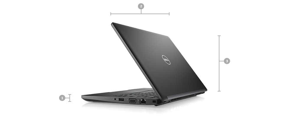 Latitude 12 5280 Laptop - Dimensions & Weight