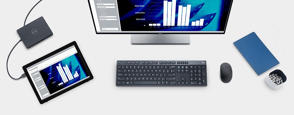 Latitude 5285 2-in-1 - Essential desktop accessories for your Latitude 5285 2-in-1