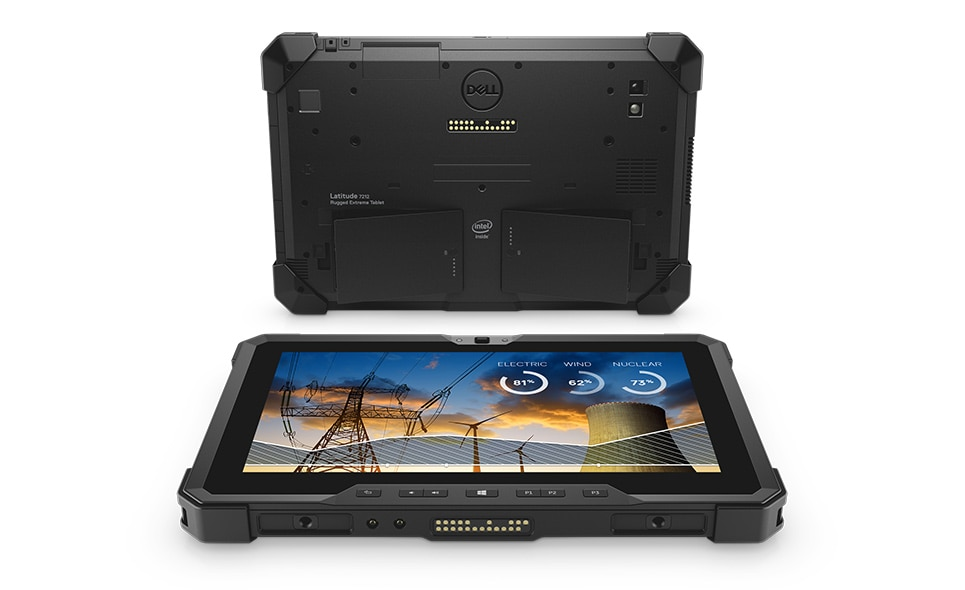Tablet Latitude 7212 Rugged Extreme – Doveďte mobilitu do extrému