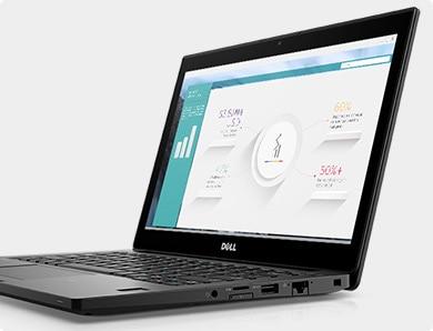 Latitude 12 7280 laptop – Bámulatos kijelző és egész napos akkumulátoros üzemidő