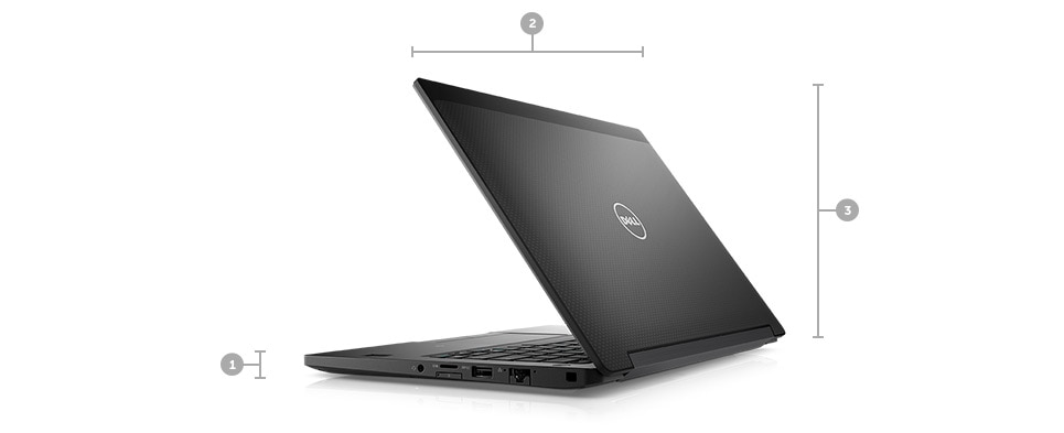 latitude 12 7280 laptop - Dimensions & Weight