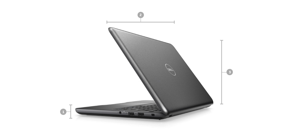 DELL Latitude 3380 I5 7200U 4GB 500GB WIN 10 Pro 133